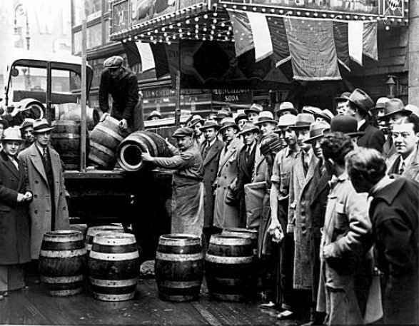 a history of the prohibition of alcohol in the united states Prohibition in washington state the 18th amendment to the united states constitution, the prohibition of alcohol purchased before prohibition was.