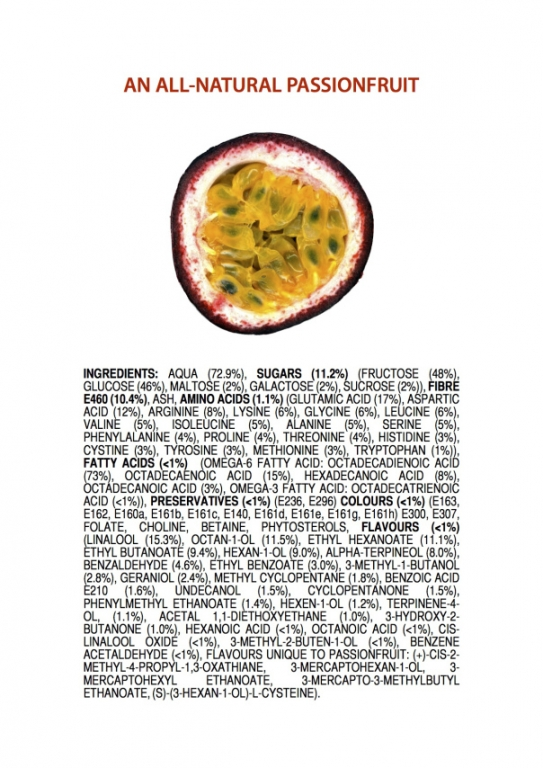 ingredients-of-an-all-natural-passionfru
