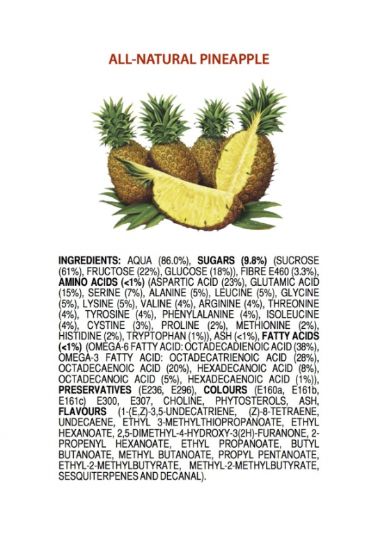 ingredients-of-an-all-natural-pineapple-